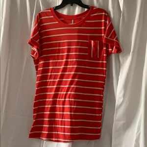 Medium, striped top, very good used condition